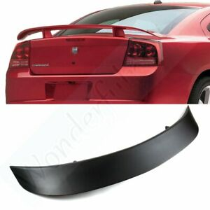 For Factory Style Rear Wing Spoiler Sport For 2006 2010 Dodge Charger