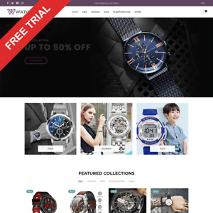 Watches Shopify Dropshipping Store Automated Website Business For Sale