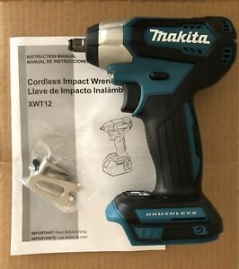 New Makita 18v Xwt12 18v Brushless Cordless 3 8 Impact Wrench Driver Man Gift