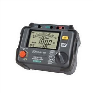 High Voltage Kyoritsu 3125a Replace 3125 Insulation Tester New 5000v Yr