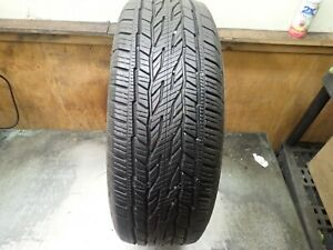 1 245 65 17 107t Continental Cross Contact Lx20 Tire 11 32 No Repairs 0519