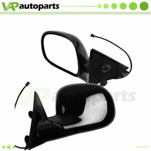 Pair Power Side View Mirrors Fits 94 97 Chevrolet S10 95 97 Blazer Truck Suv
