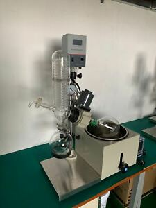 2l Rotary Evaporator Lab Rotovapor Digital Heating Bath 110v Manual Lifting Rota