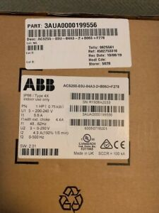 Abb Variable Frequency Drive acs255
