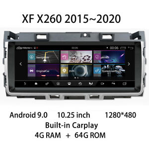 Car Multimedia Player Stereo Gps Radio Android Screen Monitor For Jaguar Xf X260