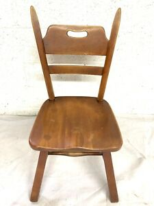 Cushman Chair Maple Wood Vermont Colonial Vtg Mid Century 5 Available