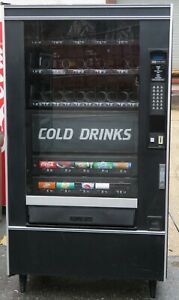 Crane National Vendors Canned Soda And Snack Combination Vending Machine 5 Wide