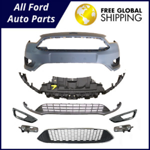 Ford Focus 2014 2015 2016 2017 Front Bumper Cover Sport Kit Oe New F1ez 17757