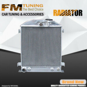 Chopped Ford Engine Radiator For Ford 1932 32 62mm Aluminum 3rows