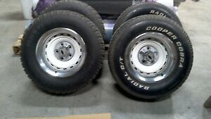 Chevy Truck Rally Wheels 15x8 Set Of 4