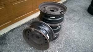 Volvo Alcar Wheels 15 940 740 960 780 760 240 Steel Rims Great For Winter Too