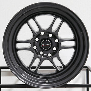 4 New 15 Vors Tr6 Wheels 15x8 4x100 4x114 3 20 Gun Metal Rims