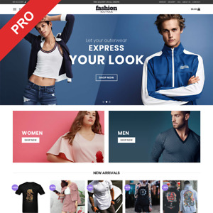 Clothing Store Dropshipping Website Business Automated Newbie Friendly