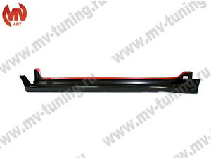 Side Skirts Mugen Style Nh 743m Buran Silver For Honda Accord 8 Acura Tsx Cu2
