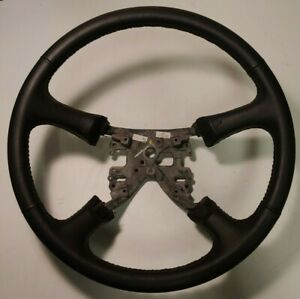 Oem Blemish 98 02 Chevy Gmc Leather Steering Wheel Silverado Tahoe Yukon Sierra
