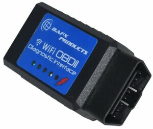 Used Bafx Products Wifi Obd2 Obdii Car Diagnostic Code Reader Scanner Tool