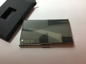 Vintage Acme Studio Frank Gehry disney Concert Hall Business Card Case New