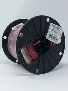 Red 500ft Spool 14 Thhn 19 Strand Insulated Electrical Wire