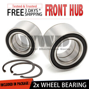 2x 510024 Front Wheel Bearing For Saturn Sc Sc1 Sc2 Sl Sl1 Sl2 Sw1 Sw Left right