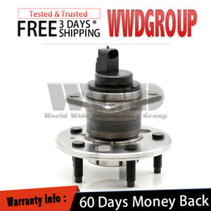 512314 Rear Wheel Hub Bearing Abs Assembly For 1997 1999 Oldsmobile Cutlass
