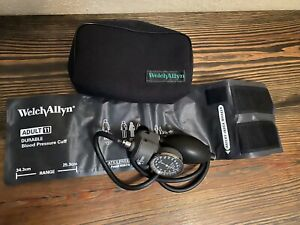 Welch allyn Tycos Classic Hand Held Aneroid Sphygmomanometer With Adult 11 Cuff
