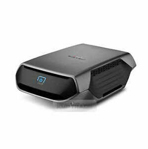 Portable Car Air Purifier Air Cleaner Freshener Hepa Active Carbon Filter