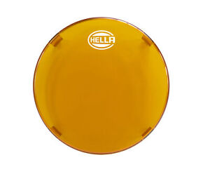 Hella Driving Fog Light Cover Round Shape In Amber 1 Year Warranty 358116991