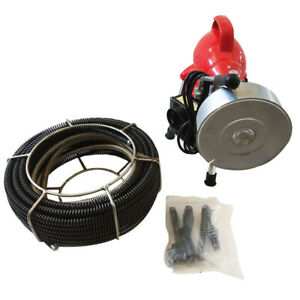 Electric Drain Auger Drain Cleaner Machine Cleaning Snake Sewer Dredging 3 4 4