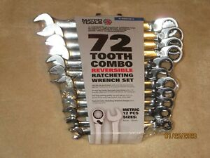 Matco 12 Pc Metric Reversible Ratcheting Wrench Set S7grrcm12 New