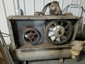 Ingersoll Rand 30te25 Air Compressor 25hp 3 Phase Motor w thrown Rod For Parts