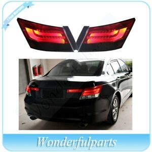 Fits Honda Accord 2008 2013 Left Right Drl Tail Lights Assembly Brake Lights