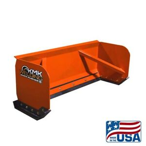 6 Skid Steer Snow Pusher Box bobcat kubota quick Attach free Shipping