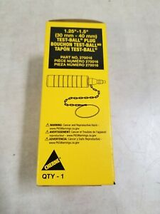 Cherne Industries 270016 Test Ball Plug pneumatic 1 1 4 To 1 1 2