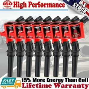8 Ignition Coil Pack For 2000 2001 2002 2003 2004 Ford F150 Expedition 4 6l 5 4l