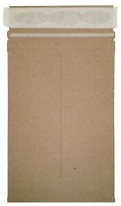 50 17 X 21 No Bend Mailers Kraft Self Seal Photo Document Flat Envelope