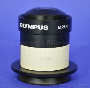 Olympus Darkfield Oil Condenser Dcw 1 4 1 2 For Bh And Bx Series Microscopes