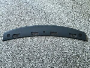 2002 2005 Dodge Ram Upper Dash Pad Defrost Defroster Panel Trim Cover Dark Grey