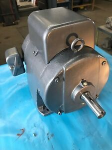 Ge Electric Motor 1phase 5hp 230vac 1735rpm 215frame Opd M 5kcj215ag227bu Cont