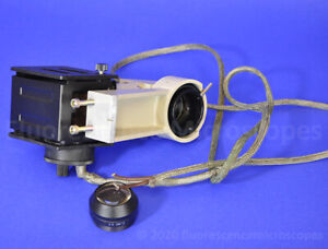 Lamp Housing And Condenser Lens For Nikon Diaphot Microscope