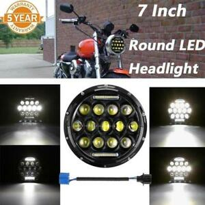 Universal Motorcycle 150w Front Led Headlight Projector Lamp For Harley Davidson