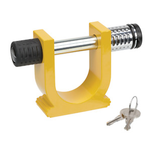 Draw Tite Reese Towpower Bright Yellow Fifth Wheel Trailer Hitch King Pin Lock