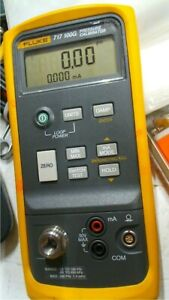 Fluke 717 100g Pressure Calibrator 12 To 100 Psi Free Shipping