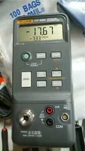 Fluke 717 100g Pressure Calibrator 12 To 100 Psi Free Shipping Unit 4