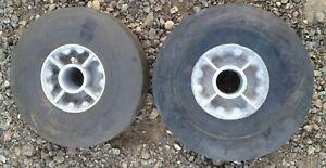 Solid Rubber Tire On Wheel
