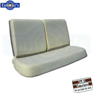 68 70 Gm A X Body Front Bench Seat Foam Cushion 3 Pieces Pui New