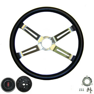 70 77 Cutlass 442 Supreme Rally Sport Steering Wheel Kit 4 Spoke New