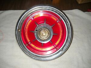 1964 Ford Galaxie Tail Light Assy Working Used Vintage