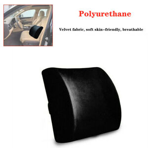 Car Memory Foam Lumbar Support Cushion Lower Back Pillow Seat Polyurethane Pad