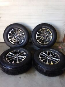2004 2019 2020 Ford F150 4wd 18 Inch Takeoff Wheels And Tires Set 100 Tread