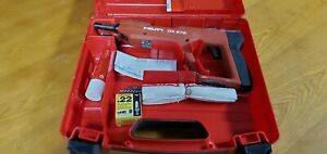 Hilti Dx E72 Powder Actuated Nailer Nail Gun W case